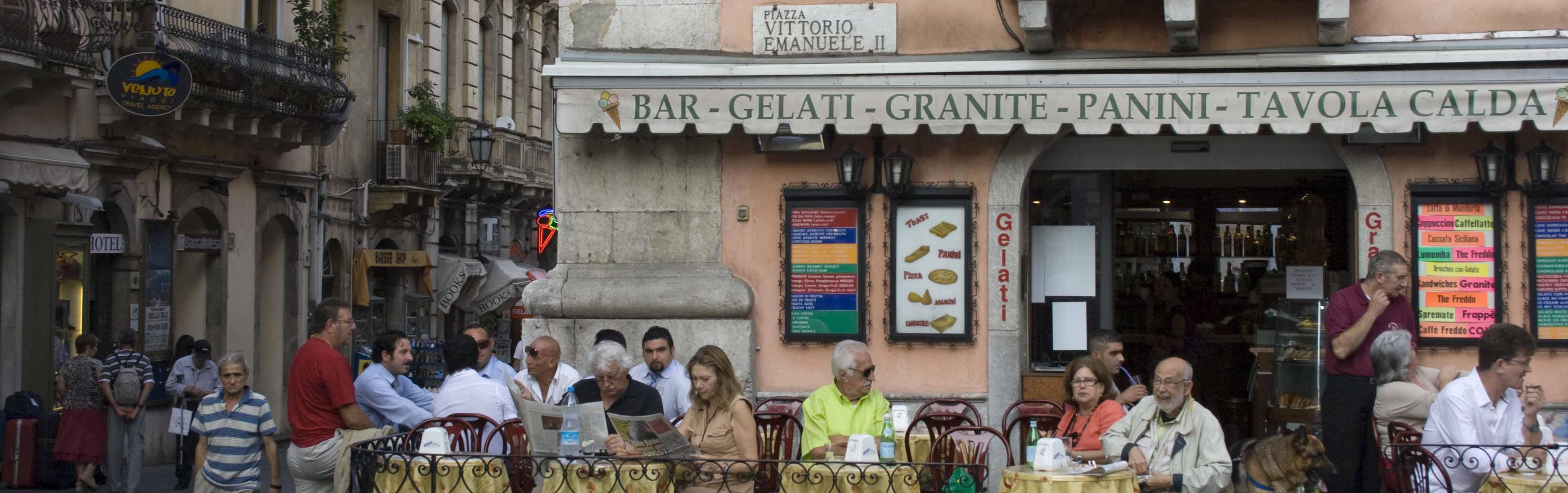 Piazza, Taormina